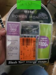 P3 International P4400 Kill A Watt Electricity Usage Monitor $14.99