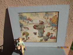 vintage illustration of Raggle Taggle Bear by Louis Moe 1929 $19.50