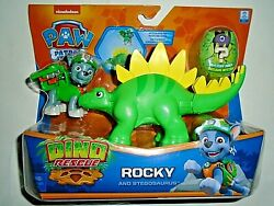 Nickelodeon Paw Patrol Rocky and Stegosaurus Dino Rescue quot;NEWquot; $19.00
