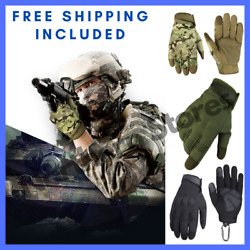 Touch Screen Waterproof Windproof Winter Gloves Tactical Hard Knuckle Gloves $15.80