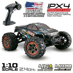 Electric RC Monster Car Truck 1:10 4WD 45Km 2.4Ghz Remote Control Car Off Road $49.99