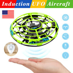 360° Mini Drone Smart UFO Aircraft for Kids Flying Toys RC Hand Control Xmas US $16.99