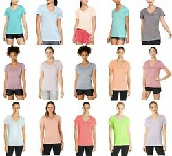 New With Tags Womens Under Armour Twisted Tech V Neck Tee Shirt Top $17.99