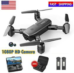 Holy Stone HS110D RC FPV Drone with 1080P HD Camera Quadcopter for Beginners $75.00