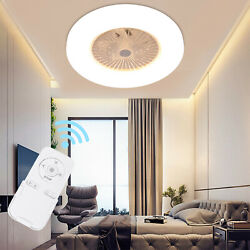 LED Invisible Ceiling Fan Light Dining Room Chandelier Lamp w Remote Dimmable $95.88
