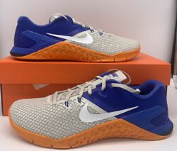 Nike Metcon 4 XD Men#x27;s Crossfit Shoes Light Bone Blue Royal BV1636 002 Mens Size $79.97