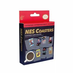Nintendo NES Classic Video Game Cartridge Coasters for Drinks 8 Set Mario Zelda $13.45