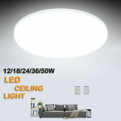 LED Ceiling Panel Down Light Fixtures Bedroom Living Room Surface Flush Mount