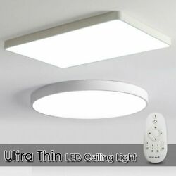 LED Ceiling Down Light Dimmable Ultra Thin Flush Mount Kitchen Lamp Home Fixture $58.49