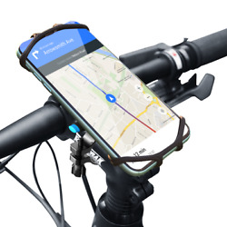 Bicycle Phone Holder For iPhone 12 Samsung Universal Mobile Cell Phone mount $12.99