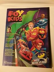 Fox Kids Magazine Spring 2000 With Pull out Digimon Poster $25.00