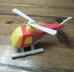 Vintage Tonka 1985 Fire Dept Tonka Helicopter Car Truck Set Toy 1980#x27;s $14.95