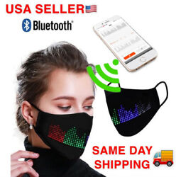 2020 LED Programmable Face Mask Custom Sign Free Fast Shipping From USA $18.99