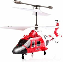 Coast Guard Rescue Helicopter RC Flight Infrared 3CH Gyro Marine Aircraft S111G $49.99