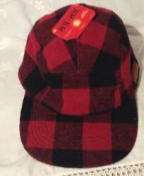 NWT The Adventures of Pete and Pete Hat NICKELODEON Nick Box Buffalo PLAID RED $34.00
