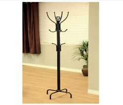 Premium Metal Tree Coat Rack Hanger Free Standing Floor With 12 Hooks 73#x27;#x27; H $33.98