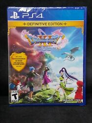 Dragon Quest XI S: Echoes of An Elusive Age Definitive Edition PS4 BRAND NEW $44.95