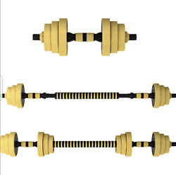 66lb Dumbbell Set Adjustable Dumbbells weights cap 552 30kg NEW Weight $74.99