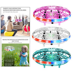 Mini UFO Flying Ball Toys Induction Helicopter RC Flying Toys with LED Light $14.50