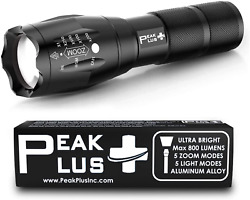 Brightest LED Flashlight Pro Series Made In USA $14.99