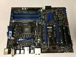 MSI Motherboard MS 7681 Intel i Series No CPU Included Tested $79.99