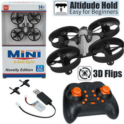 Mini Drone Nano Quadcopter RC Helicopter Plane 3D Flip Headless Mode Xmas Child $20.99