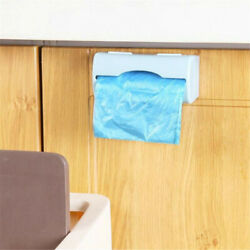 Durable Plastic Kitchen Bag Holder Dispenser Box Wall Mount Recycle Storage 2020 $9.99