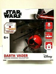 Star Wars Darth Vader Motion Sensing Helicopter. Control With Your Hand. NEW $9.99