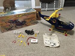 ORIGINAL 1977 BATMAN HELICOPTER BATCOPTER BY EMPIRE TOYS IN ORIGINAL BOX $400.00