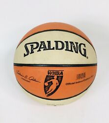 WNBA Spalding Official Game Basketball Authentic Comp. Leather Basketball $37.88