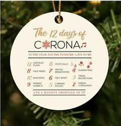 12 Days of Corona Christmas Ornament 3quot; BRAND NEW. $15.00