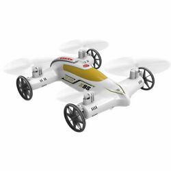 Syma X9S 2.4G 4CH 6 Axis RC Remote Control Flying Car Quadcopter 3D White $29.99