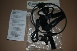 Peltor Headset Single Earpiece and Throat Microphone Combo MT9HTM05 NEW $70.00
