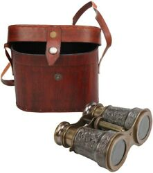 Binocular Brass Antique Nautical Vintage Telescope Gift Monocular Maritime Gift $40.95