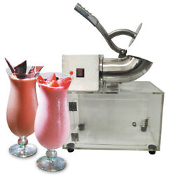 Commercial Shaved Ice Machine Electric Snow Cone Maker Smoothie Making 1400rpm