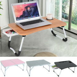 Portable Foldable Laptop Notebook Table Adjustable Stand Bed Tray Laptop Desk TH $25.99