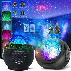 LED Galaxy Starry Night Light Projector Ocean Star Sky Party Speaker Lamp Remote $32.99