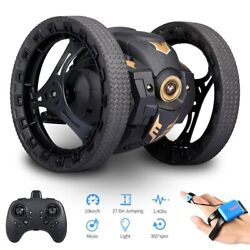Bounce Jump Car Remote Control Toy Stunt 360 Rotation Bouncing 2.4Ghz Toys RC US $63.99
