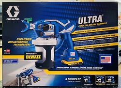 Graco Ultra Cordless Airless Handheld Paint Sprayer 17M363 $549.98