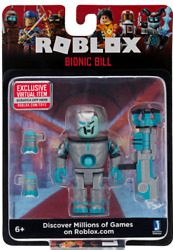 SEALED New ROBLOX Celebrity Mini Action Figure BIONIC BILL Core Pack Mystery Box $9.99