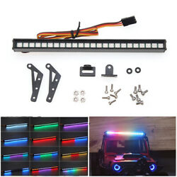 24LED Light Bar Roof Lamp For 1 10 Scale TRAXXAS TRX4 SCX10 90046 D90 RC Crawler $15.49