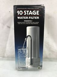 New Wave Enviro Premium 10 Stage Countertop Filter System Home Filtration System $100.00