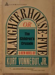 Kurt Vonnegut Slaughterhouse Five. Vintage 1969 Trade Paperback. $15.80
