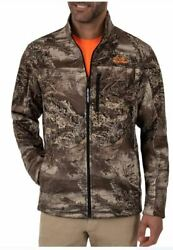 NEW Large Men#x27;s RealTree MAX1 XT Insulated Bonded Jacket Coat Camo $34.88