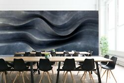 3D Wall Waves ZHUA2032 Wallpaper Wall Murals Removable Self adhesive Zoe AU $259.99