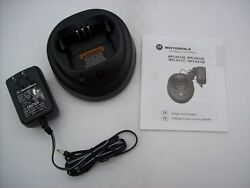 New In Box Genuine Motorola WPLN4154AR Charger For CP200 PR400 w Adapter $17.99