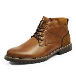 Men#x27;s Suede Leather Chukka Casual Boot Dress Boots Durable Stylish Shoes for Men $27.89