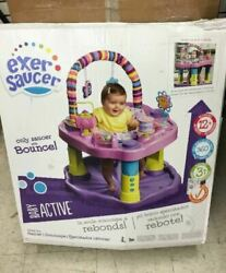 Evenflo Exersaucer Bounce and Learn Sweet Tea Party Brand New $64.99