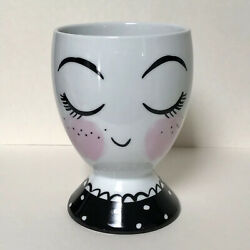 Girl Face Planter or Makeup Brush Pencil Cup Novelty Girls Room Vanity Decor $11.25