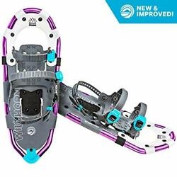 Sawtooth Snowshoes for Men and Women. Fully Adjustable 21 inches Aurora $202.78
